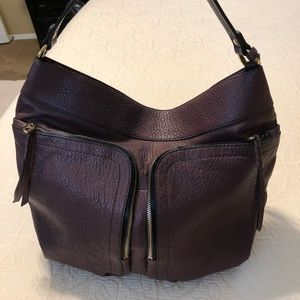 Oryany Pebbled Casey Lamb Leather Handbag Tote NWT